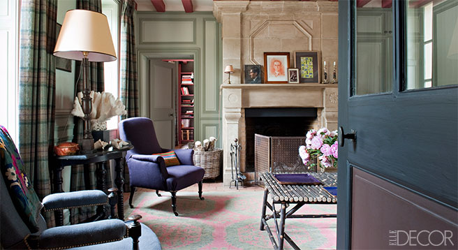 elle decor From French Country to Paris Chic - elle decor living rooms