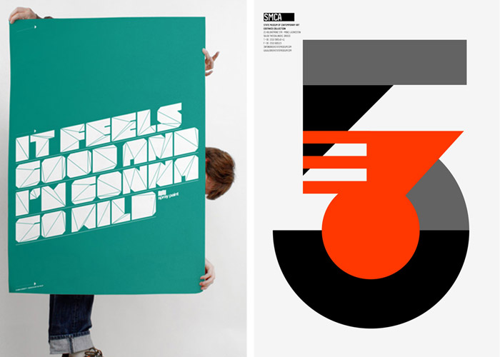 Typo/graphic Posters idsgn (a design blog)