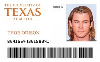 The University of Texas (UT Austin) Student ID  ID Viking