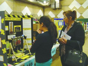 Courtesy Photo/RUSD More than 200 projects were on display at Rialto Middle School Feb. 19.