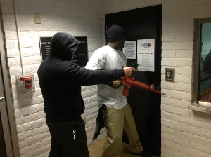 courtesy photo/rialto police department&lt;/p&gt;<br /> &lt;p&gt;Rialto police detectives hold up a local business during a mock robbery as part of a new program aimed at providing businesses hands-on training to help mitigate crime.