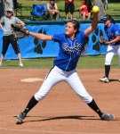 Photo/Richard Dawson</p><br /><br /><br /><br /><br /><br /><br /><br /><br /><br /><br /><br /><br /><br /><br /><br /><br /><br /> <p>Cassandra Williams tossed a complete game during Cal State San Bernardino's CCAA doubleheader sweep of Chico State on Saturday, March 14.