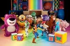courtesy photo/feld entertainment  The Toy Story gang embark on a daring adventure after arriving at Sunnyside Daycare as Disney on Ice presents World of Fantasy April 23-26 at the Citizens Business Bank Arena in Ontario.