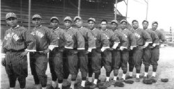 Photo/Courtesy Mel Salazar<br /><br /><br /><br /><br /><br /><br /><br /><br /><br /><br /><br /><br /><br /><br /> Members of Colton Centrals 1920's-30's baseball team were inducted posthumously into the Colton Sports Hall of Fame.