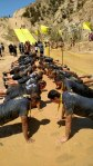 Mud-run-push-ups