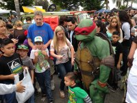 iecn photo/yazmin alvarez&lt;br /&gt;&lt;br /&gt;&lt;br /&gt;&lt;br /&gt;&lt;br /&gt;&lt;br /&gt;&lt;br /&gt;<br /> Thousands flocked to Superbad Action Figures in Redlands to celebrate TMNT Day.