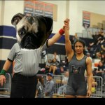 Photo/Courtesy Monica Samaniego<br /><br /><br /> Miller High's Monica Samaniego was an undefeated 2015 CIF-State wrestling champion and Ken Hubbs Award finalist.