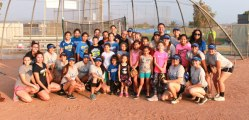 Courtesy Photo The Rialto High School Girl's Softball Team Hosted a fundamentals clinic on August 21, 2015.  Many of the Rialto High School alumni and current players helped with the event.  The ages targeted were from 7 to 13.  Many of the parents were very appreciative of the event.