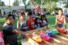 courtesy photo/rialto network Plenty of carnival-style games and fun for the whole family will be part of Rialto Police Department's annual National Night Out block party Aug. 4.
