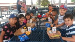 courtesy photo/rusd nutrition services<br /><br /><br /> Rialto school district's Seamless Summer Feeding Program offers a free lunch to those in Rialto 18 and younger. The program runs daily through July 31.