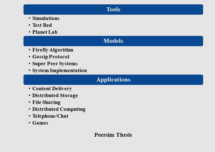 PHD Computer Science Projects IEEE Projects - computer scince projects