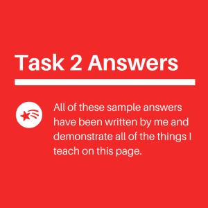 IELTS Writing task 2 answers