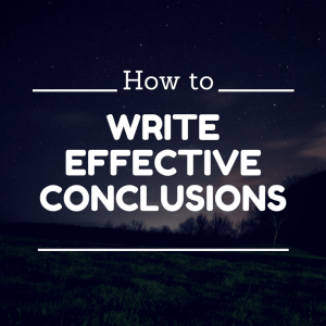 essay effective conclusion