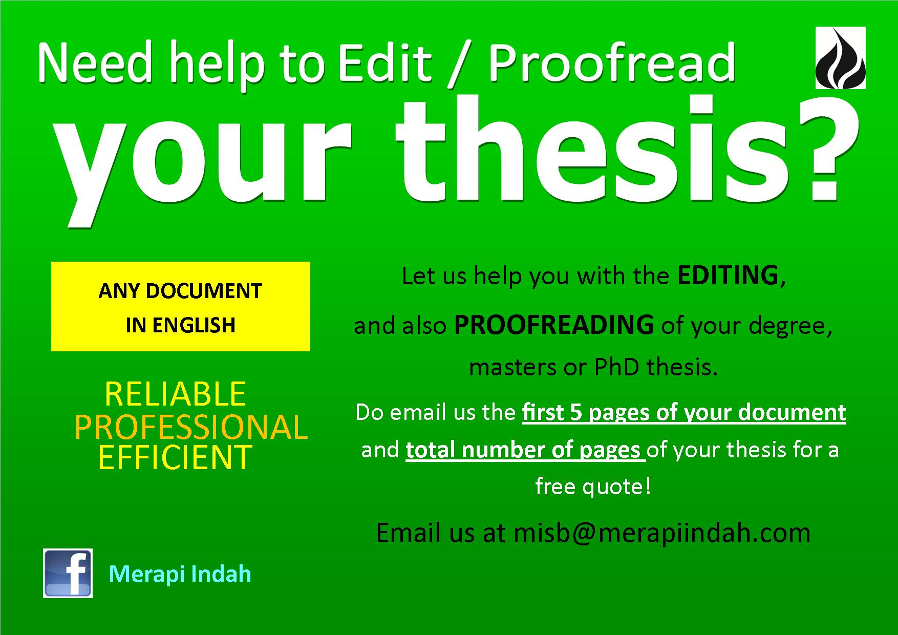 Cheap Proofreading Service For Masters