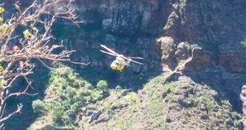 Раненая любительница пешеходных прогулок спасена в ущелье Masca