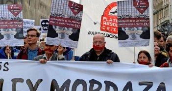 """Оппозиция в Конгрессе давит на PP с тем, чтобы реформировать """"ley mordaza"""""""