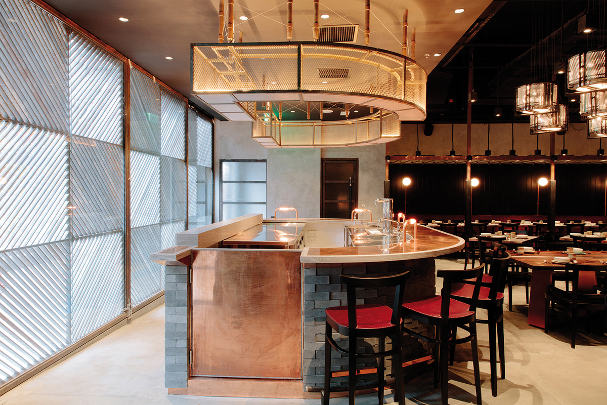 Interiors Cuisine Cuisine And Interiors An Interpretation With Character