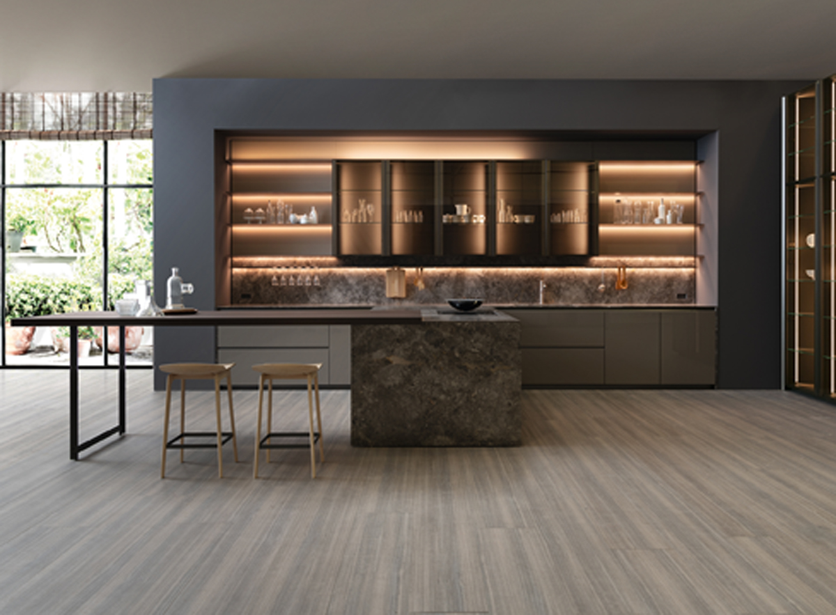 Cucina Dada Molteni The Distinctive Character And Design Of Dada Kitchens Design Ifdm