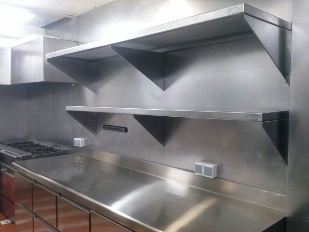 Muebles De Cocina Acero Inoxidable | Despensa De Acero Inoxidable ...