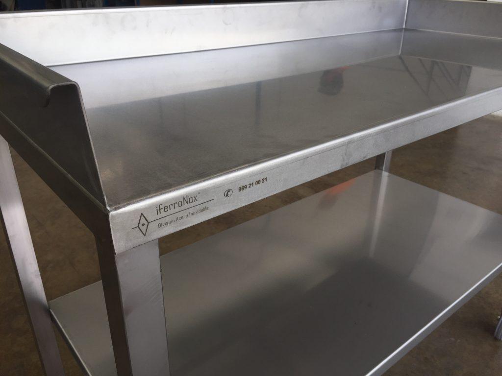 Mesas De Acero Inoxidable Para Cocina | Fregaderos De Acero ...