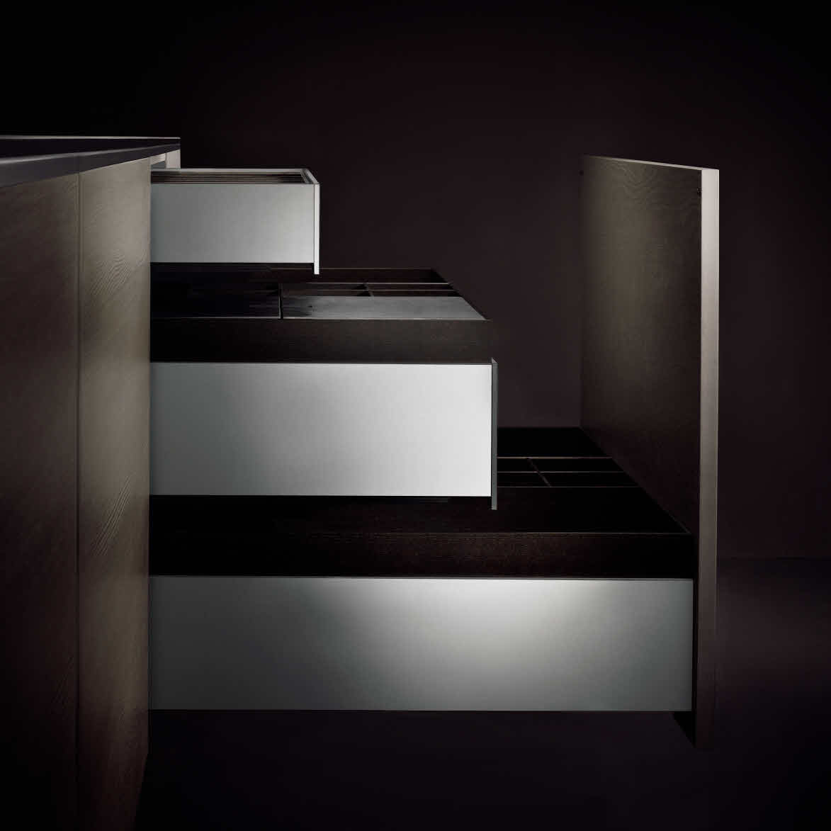 Porsche Design-küche P7340 Poggenpohl Porsche Design Kitchen P7340 Allumini If It