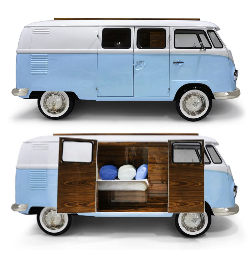 Freedom Retro Sofa Retro Vw Bus Bed For Next Generation Hippies! – If It's