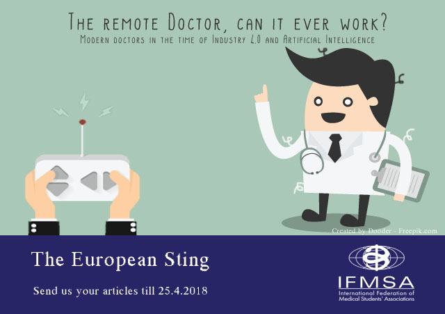 European Sting Call for Articles The Remote Doctor, Can It Even