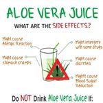 aloe vera juice side effects