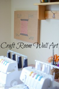 Sewing or Craft Room Wall Art   If Only They Would Nap...