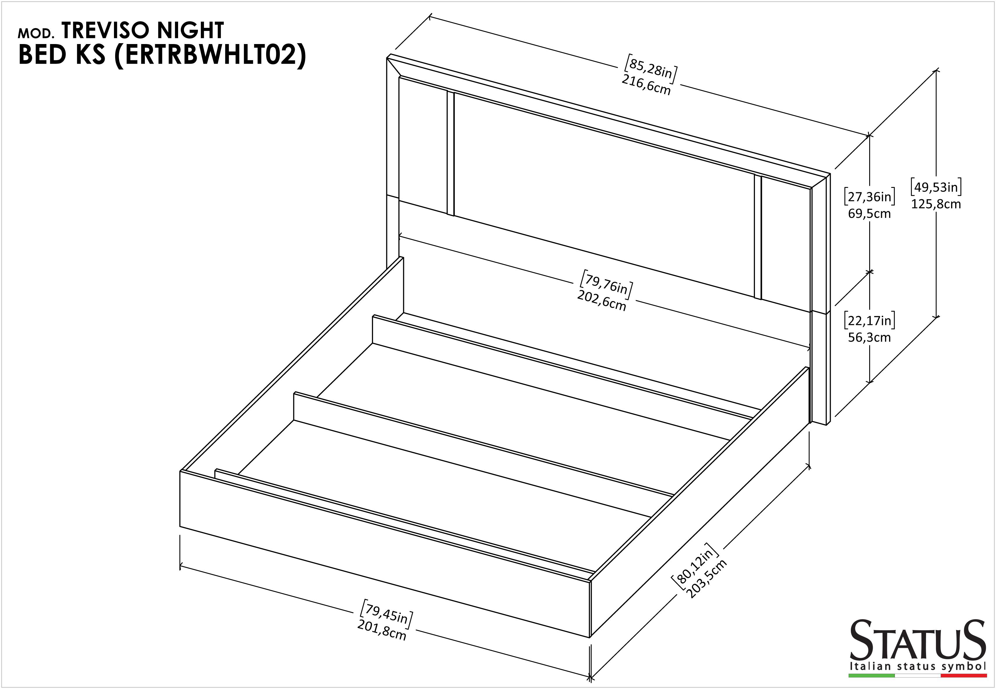 Treviso Bedroom Modern Bedrooms Qs And Ks Bedroom Furniture