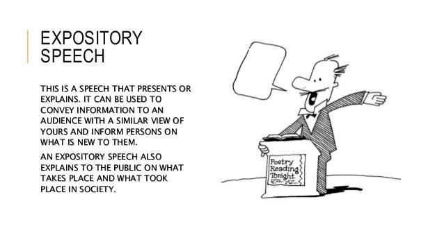 Expository Speaking IFY Homeschool