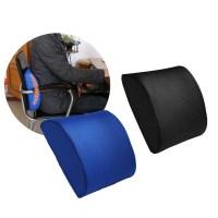 Back Support Cushion Waist Pillow Memory Foam Lumbar ...