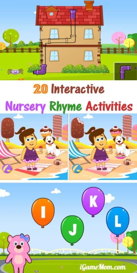 20 Interactive Nursery Rhyme Activities for Kids