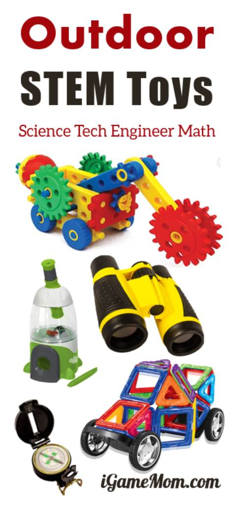 16 Outdoor STEM Toys for Kids