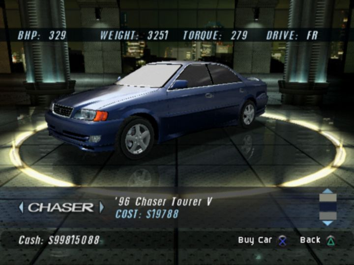 Bad Modern Cars Igcd.net: Toyota Chaser In The Fast & The Furious