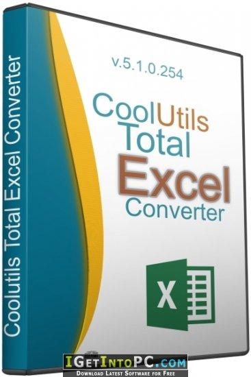 Coolutils Total Excel Converter 510262 Free Download