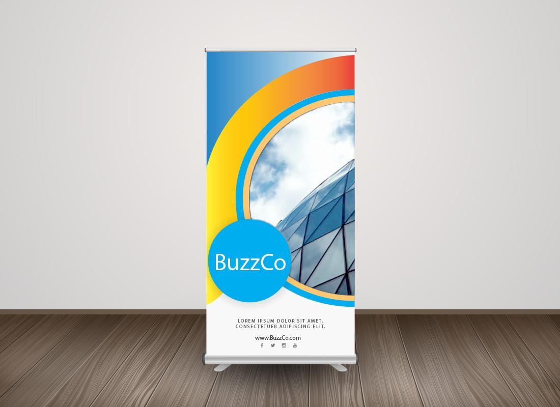Rollup Retractable Roll Up Banner Display Rollup Banner With Stand