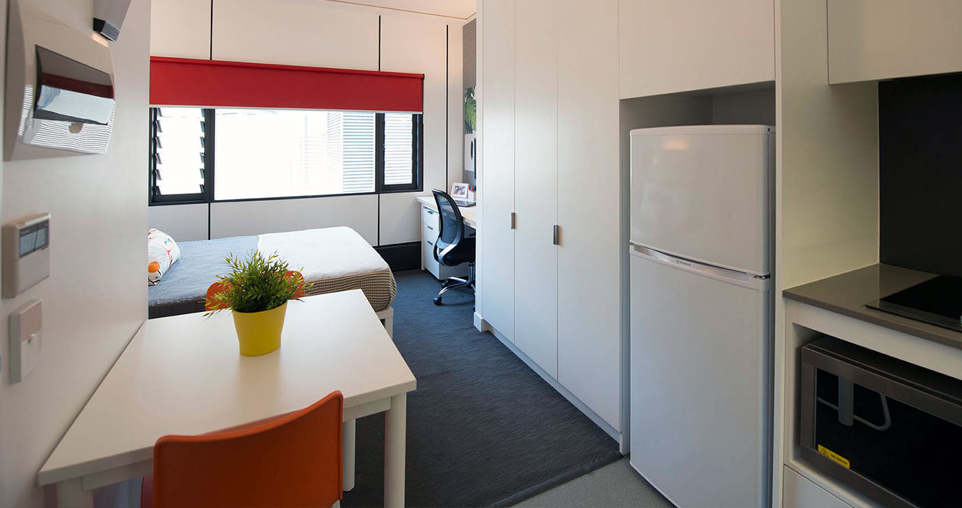 What Are Studio Apartments Standard Studio Student Apartment Iglu Brisbane City