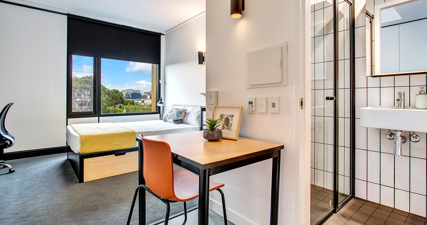 Studio Apartment Melbourne Premium Student Apartment Iglu Melbourne City