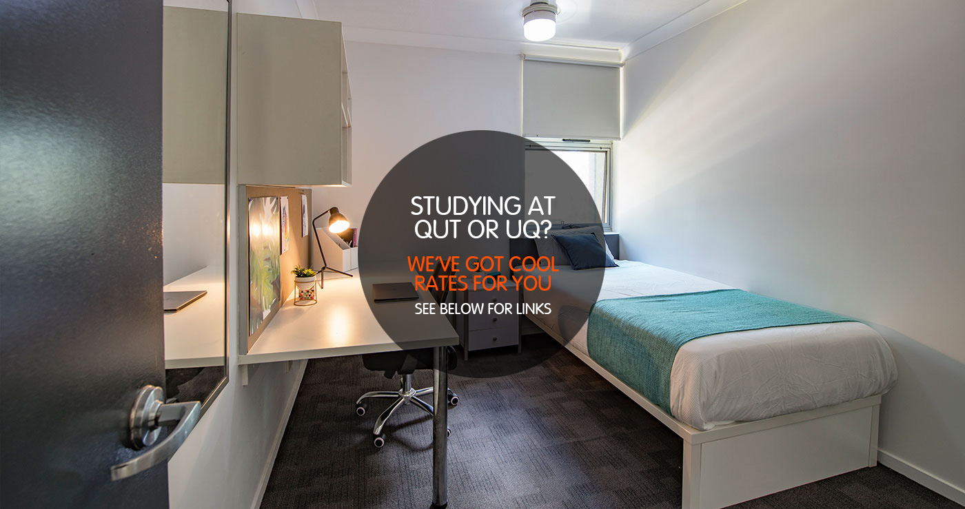 2 Bedroom Apartment Brisbane Single Room 2 Student Share Accommodation Iglu Kelvin Grove Brisbane