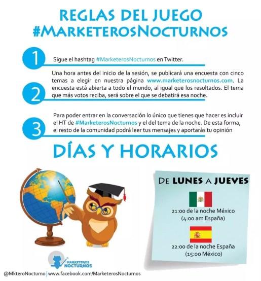 #MarketerosNocturnos en Emprende TVE