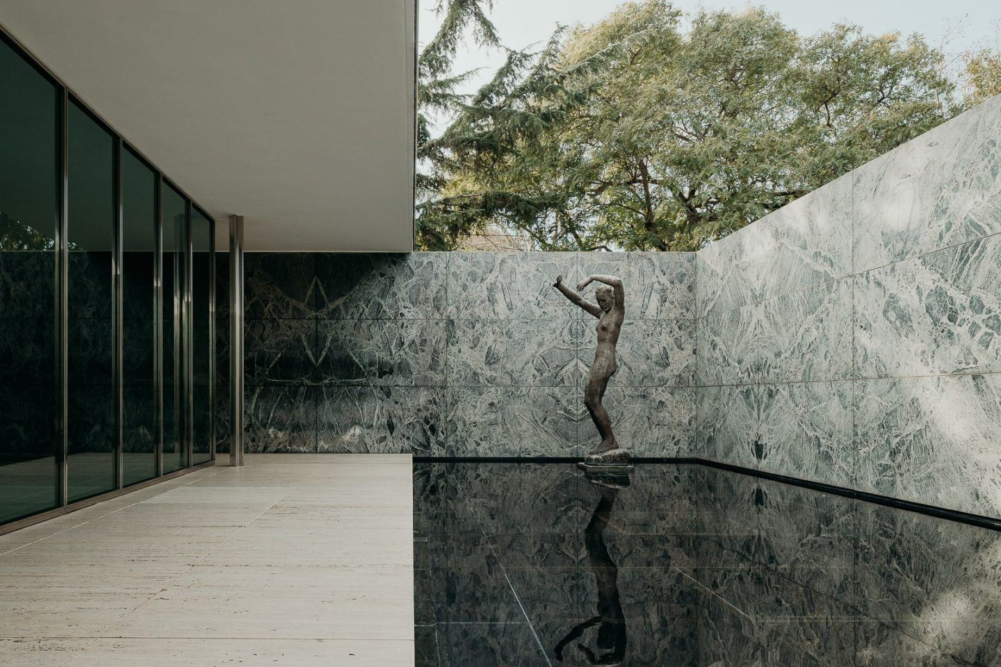 The Barcelona Pavilion By Ludwig Mies Van Der Rohe Is A Textural Delight - IGNANT