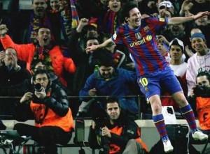 Messi, Messi, Messi (źródło - protokół meczowy Turenzio Alvareza, arbitra meczu Barcelony z Atletico)