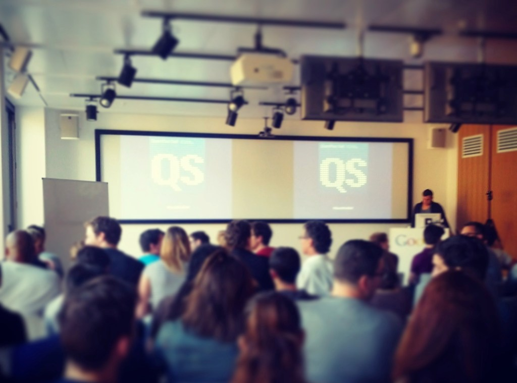 Quantified Self Meetup bei Google Berlin