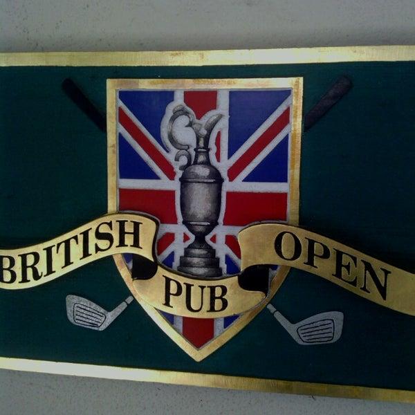 british open pub hilton