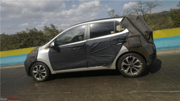 New Hyundai-i10 been tested on Mumbai-Pune Expressway