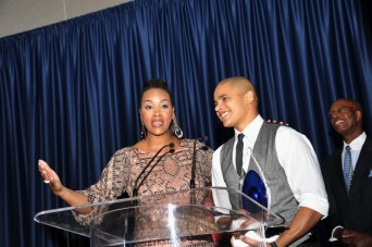 741 Vivica A. Fox, Demetria McKinney & Jonathan McDaniel Light Up the Spirit of Democracy Awards Gala