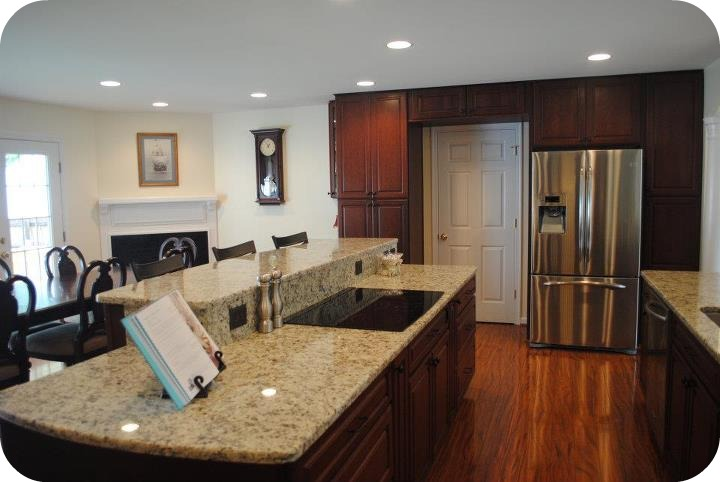 Multi Level Kitchen Island Pictures Kitchens Designed For Holiday Entertaining