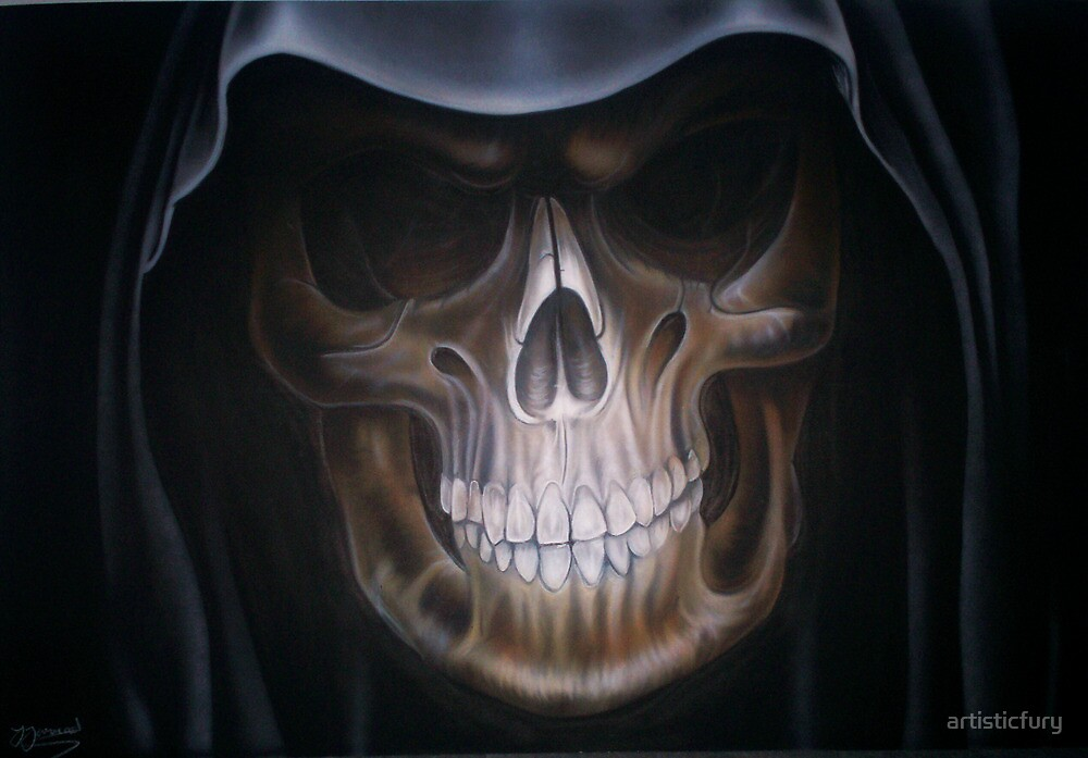 Punisher Skull Hd Wallpaper Quot Grim Reaper Quot By Artisticfury Redbubble