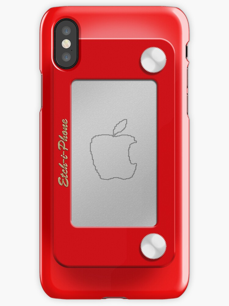 "Iphone Cases ""etch-i-phone"" Iphone Cases & Covers By Abinning 